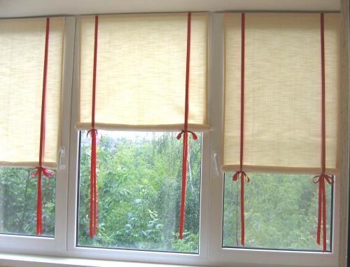 Как сделать шторы своими руками на балкон