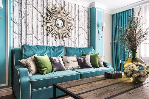 Стена за диваном