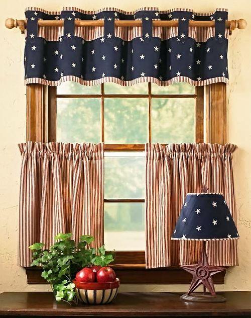 Красивые кухонные шторы своими руками 163