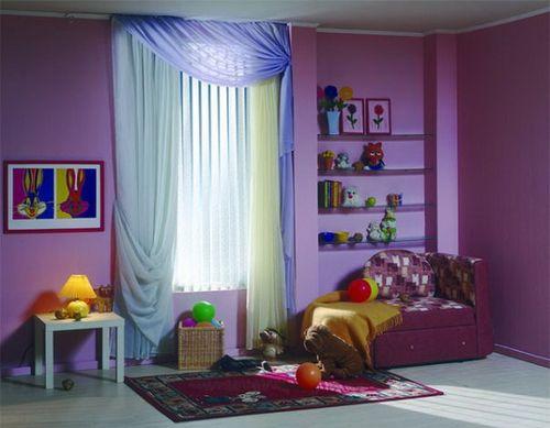 Выбираем шторы в детскую комнату для мальчика