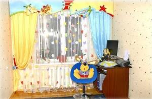 Выбираем шторы в детскую комнату для девочки