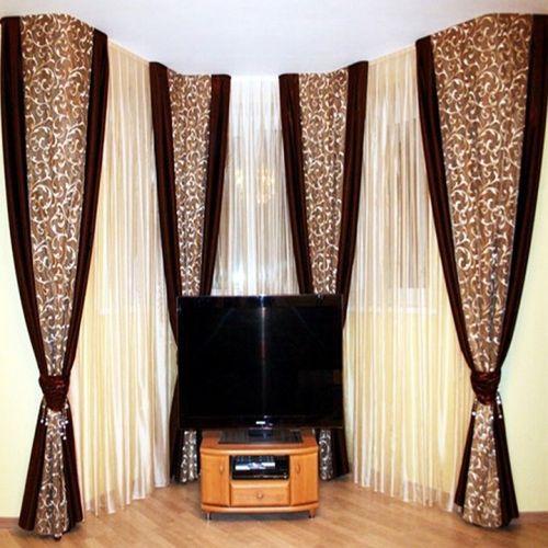 эркерные шторы