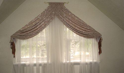 Шторы на мансардные окна фотогалерея
