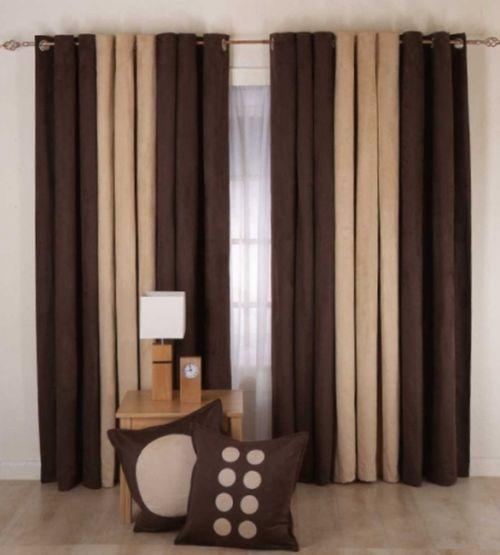 шоколадно-кофейные шторы