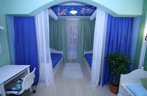 шторы для разделения комнаты