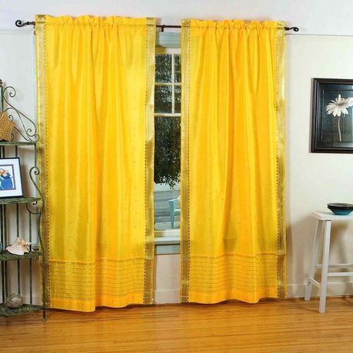 шторы желтого цвета