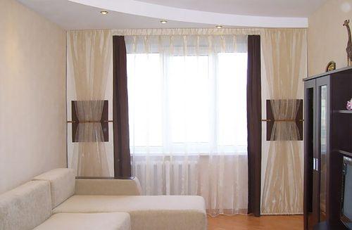 шторы в минимализме