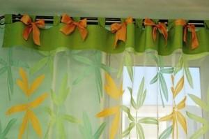 Шьем сами шторы в детскую комнату