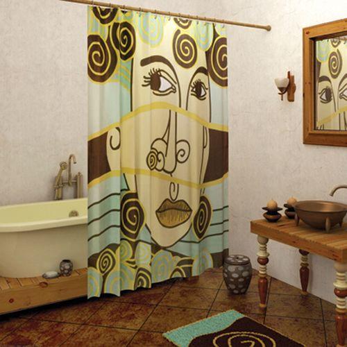 Выбираем шторы для ванной комнаты
