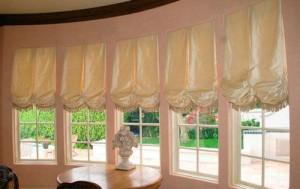 Классические австрийские шторы