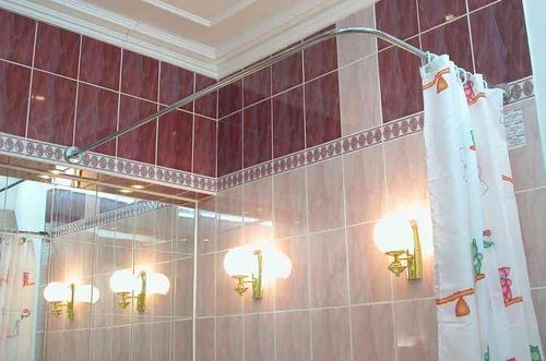 Выбираем карниз для ванной