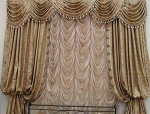 Шьем французские шторы сами