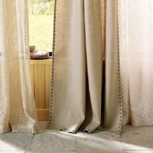 Выбираем льняные шторы