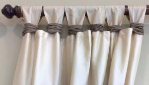 Делаем шторы на петлях сами