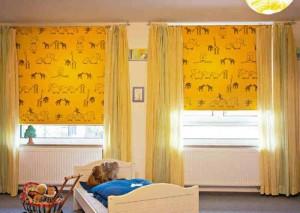 Выбираем римские шторы в детскую