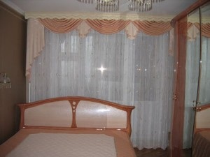 Ламбрекены в спальню