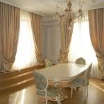 Выбираем классические шторы