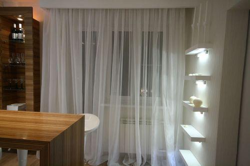 Выбираем прозрачные шторы