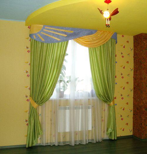 Выбираем шторы в детскую