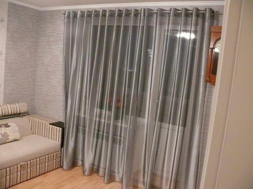 Выбираем тюль к шторам