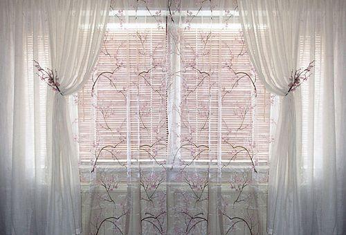 Как повесить шторы на карниз с кольцами