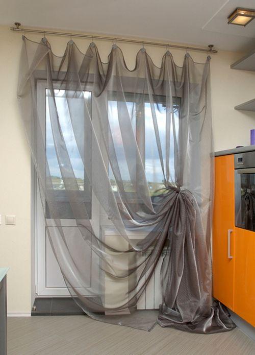 Фото шторы как повесить