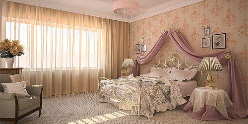 Как подобрать тюль для спальни: фото варианты решений