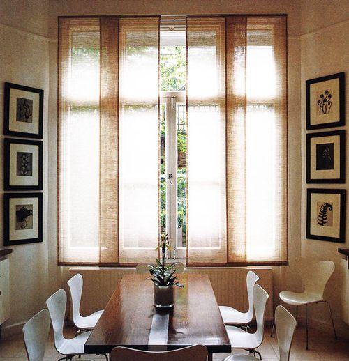 Выбираем панельные шторы
