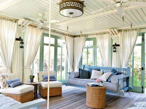 Выбираем шторы на веранду