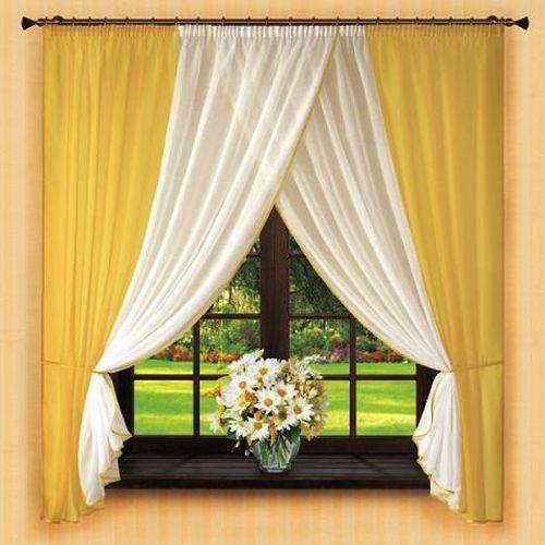 Как выбрать короткие шторы до подоконника