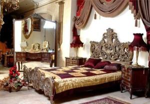 Красивые шторы в стиле Версаль