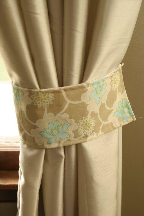 Как подобрать элегантные подвязки для штор