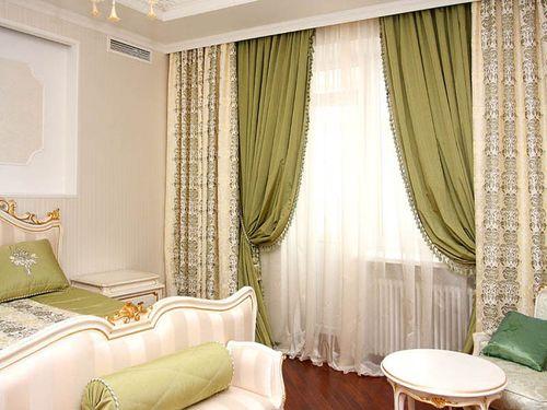 Выбираем дизайн штор из шифона на окна в комнаты