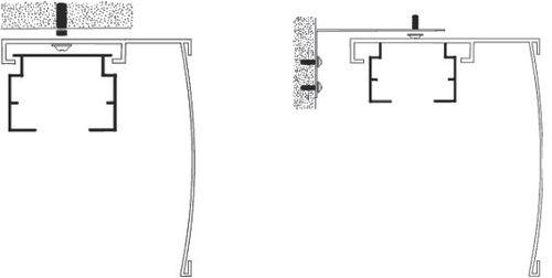 Варианты крепления вертикальных жалюзи на окна и потолок