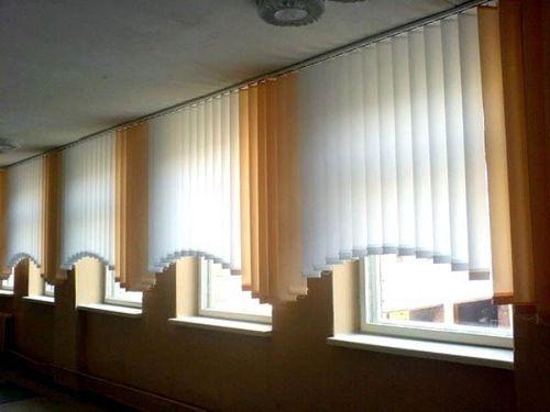 Как снять вертикальные жалюзи с окна