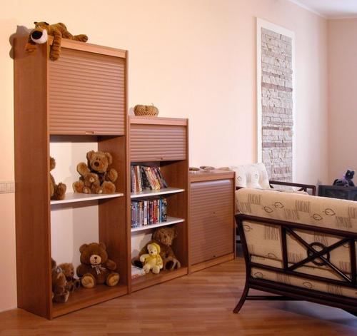 Мебельные жалюзи REHAU в детской комнате