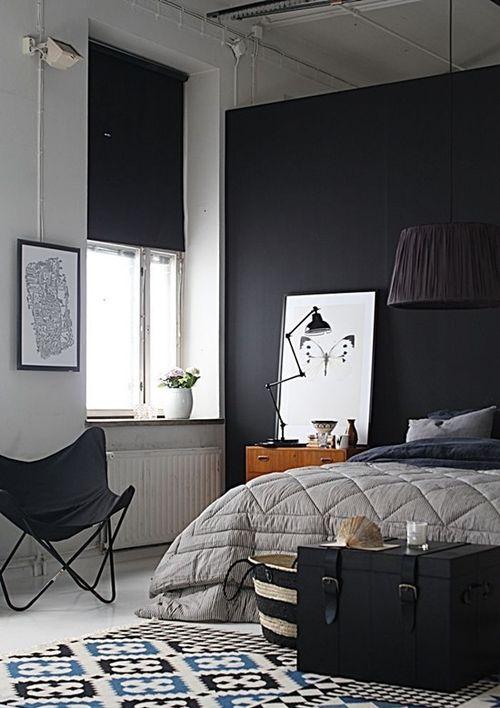 Черные жалюзи при оформлении современного интерьера