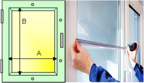 Как правильно сделать замеры окна для жалюзи 587
