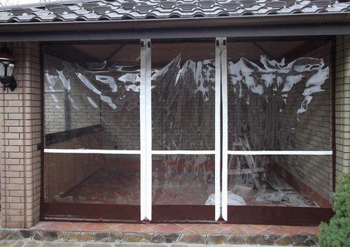 ролевые шторы из ПВХ материала