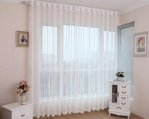 Воздушное оформление окна