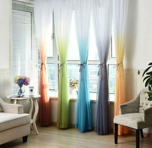 Использование градиентных штор