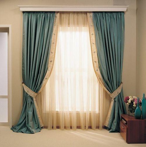 Традиционное оформление окна